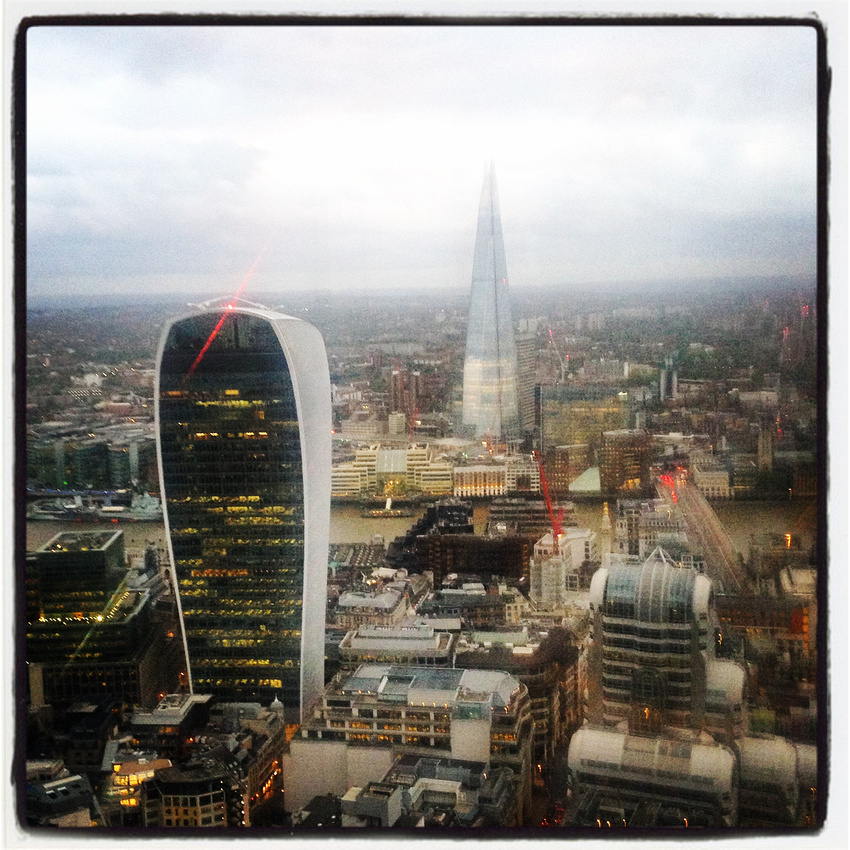 The Shard and 20 Fenchurch Street