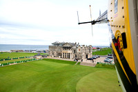 St Andrews Old Course from a Bell LongRanger