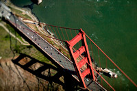 Aerial Photograph of the Golden Gate Bridge by Aerial Photographer Jon Hope