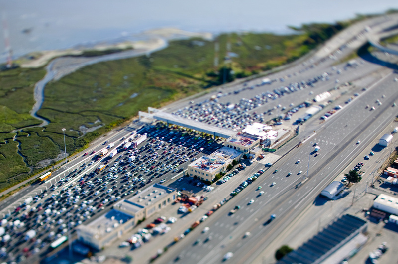 Jon Hope Aerial Photography | Toll Plaza Aerial View